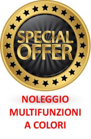 Promo Noleggio Multifunzioni A COLORI