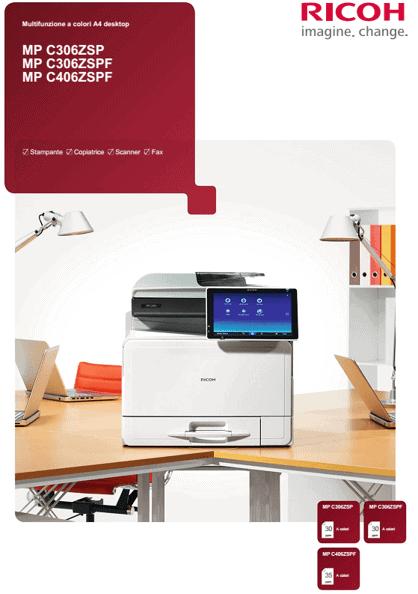 Fotocopiatrice Multifunzioni Ricoh Mp c3003 Sp