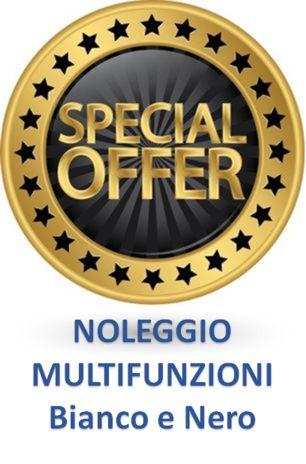 Promo Noleggio Multifunzioni Bianco e Nero