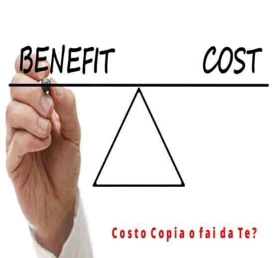Quando l'Assistenza Costo Copia è consigliata ?